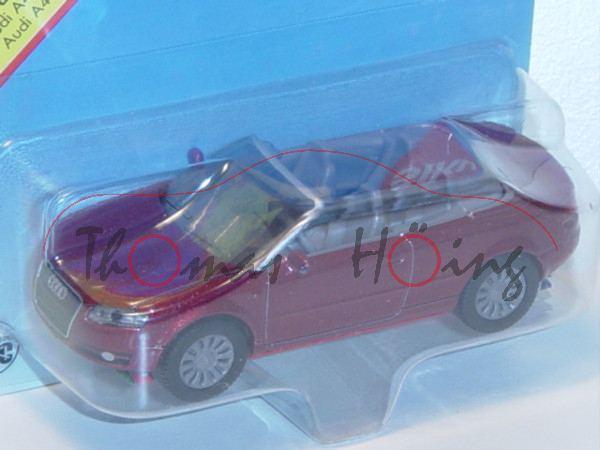 00000 Audi A4 Cabrio 3.2 FSI quattro (B7, Typ 8H, Modell 2006-2009), hell-purpurrotmetallic, innen s