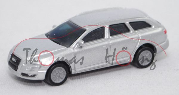 Audi A6 Avant (C6, Typ 4F, Mod. 2005-2008), lichtsilber, BOSS, 1:87, Limited Edition Audi Collection