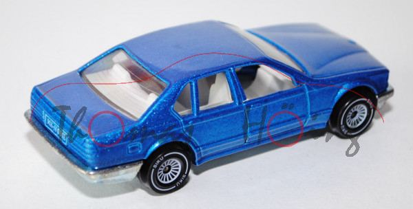 BMW 735 iL, himmelblaumetallic, innen weiß, Lenkrad weiß, B4