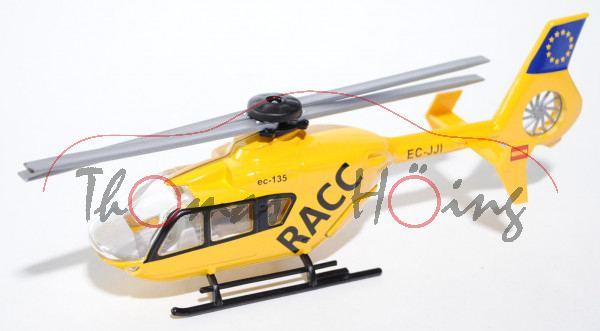 01101 Rettungshubschrauber Eurocopter, gelb, RACC, E, L17mP