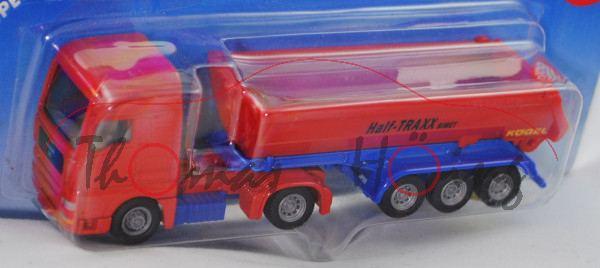 00000a MAN TG460A XXL (TGA 18.460 XXL) Sattelzugmaschine (Mod. 00-07) mit 3-Achser Kippsattelanhänge