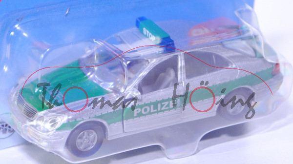 00003 Mercedes-Benz E 500 (Baureihe W 211, 1. Version) Polizei-Einsatzfahrzeug, Modell 2003-2006, si