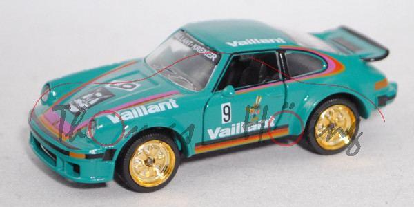 Porsche 934 / Porsche Turbo RSR (Mod. 76-77) (269C), grün, Porsche Cub 1976, Bob Wollek, Nr. 9, mb
