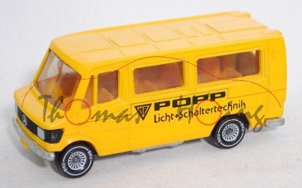 Mercedes-Benz 208 2.3 (Typ T 1, TN, MR 208, Mod. 1977-1982) Bus, gelb, POPP / Licht+Schaltertechnik