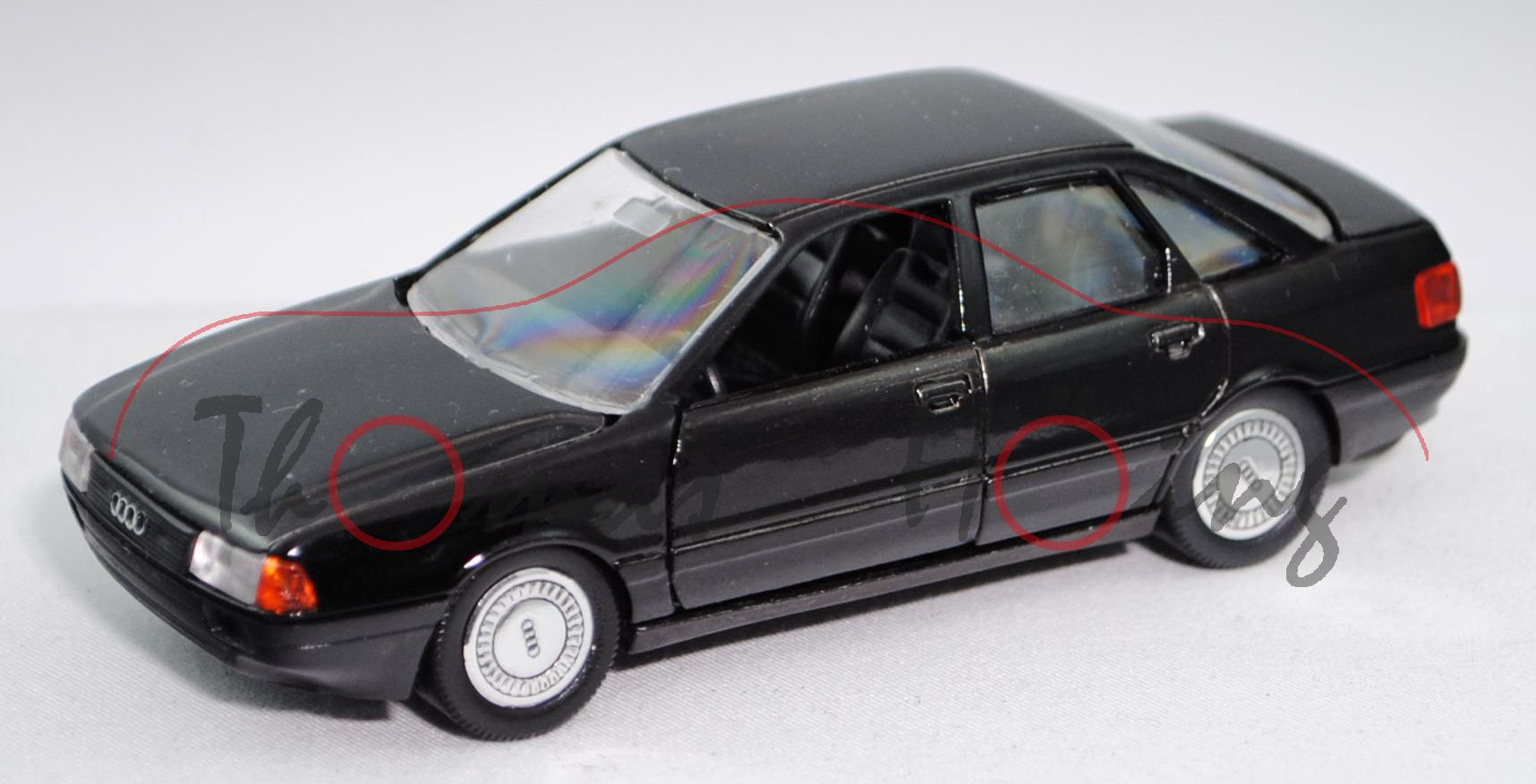 Audi 80 quattro (B3, Typ 89, Modell 1986-1991), schwarz ...