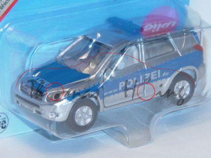 00001 Toyota RAV4 2.2 D-CAT 4x4 (3. Generation, Typ CA30W) Polizei-Geländewagen, Modell 2006-2009, c