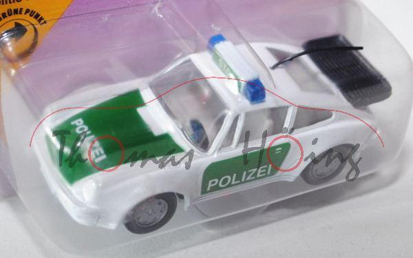 Porsche 911 Turbo 3,3 (G-Modell Typ 930, Modell 1978-1989), Autobahn-Streifenwagen, cremeweiß, innen
