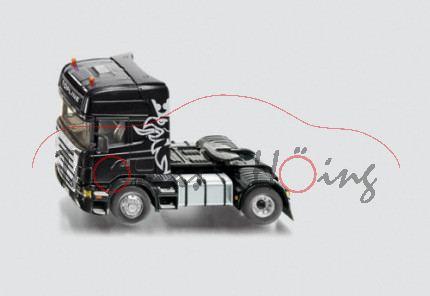 Scania R620 TOPLINE Zugmaschine mit Akku, schwarz, SIKU Control Funk-Technologie (Radio Controlled),