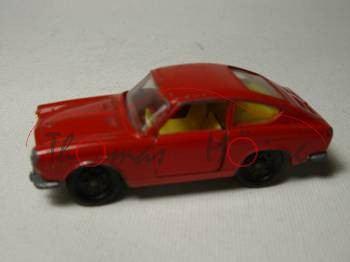 Fiat 850 Sport-Coupe, feuerrot, R3, innen gelb