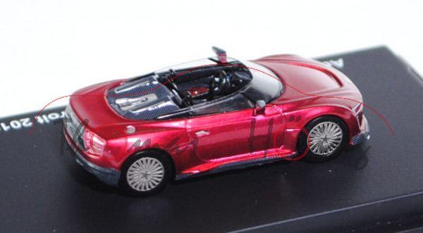 Audi e-tron Spyder Concept, rubinrotmetallic, Präsentation: Elektronik-Messe CIS Las Vegas 2011 / De