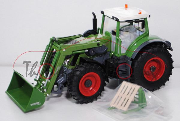 00000 fendt 939 vario traktor modell 2014 mit frontlader fendt