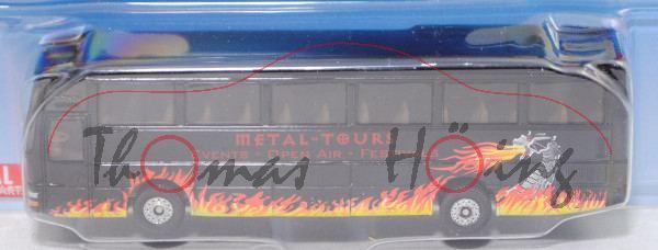 00003 MAN Lion's Star A 03 Reisebus (Modell 1999-2003), schwarz, METAL-TOURS, C36, P29e