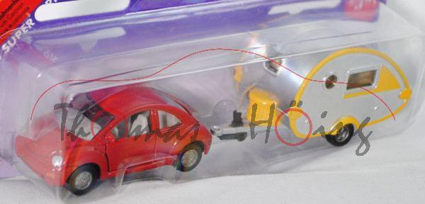 00000a VW New Beetle 2.0 (Typ 9C, Mod. 98-01) mit Wohnanhänger Knaus Tabbert T@B 320 RS (Mod. 02-),