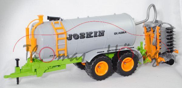 JOSKIN-Güllefass QUADRA P.19 20000 TS (Fasswagen), grau/melonengelb/grün, AGRITECHNICA 2003, L17P
