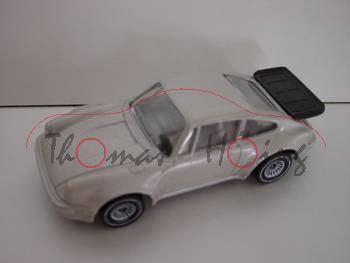 00003 Porsche 911 Turbo 3,3 (G-Modell Typ 930, Modell 1978-1989), champagnermetallic, innen lichtgra