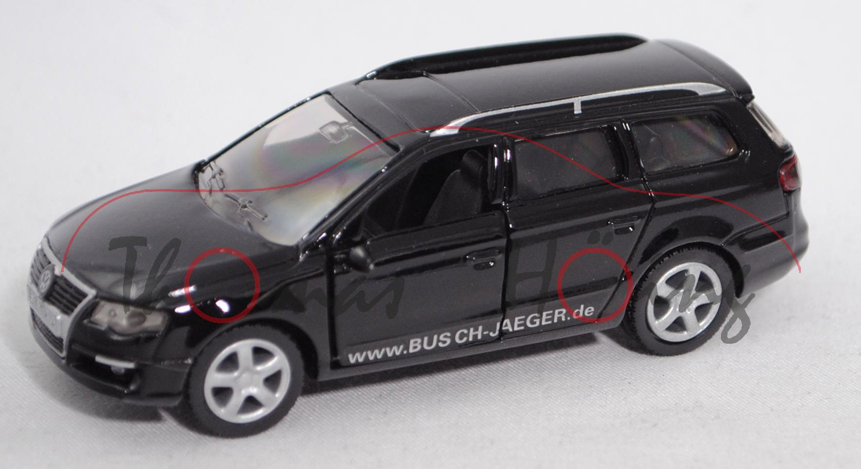 Siku Super 1314 00600 VW Transporter Typ T3 Bundespost-Peilwagen TV DETECTOR VAN