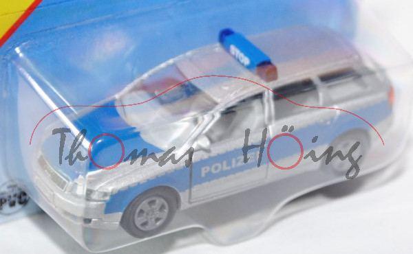 00002 Audi A4 Avant 2.5 TDI quattro (B6, Typ 8E, Mod. 01-04) Polizei-Verkehrsdienst, silbergraumetal