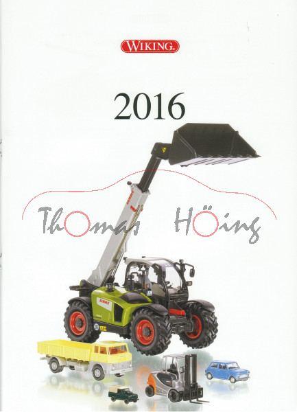 Wiking Katalog 2016 DIN A4, 40 Seiten, Wiking