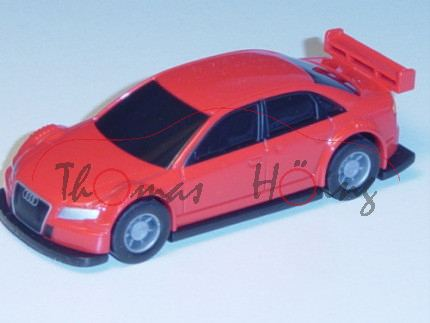 Audi A4 DTM, Mj. 2004, blutorange, Pullback, 1:64, Minichamps