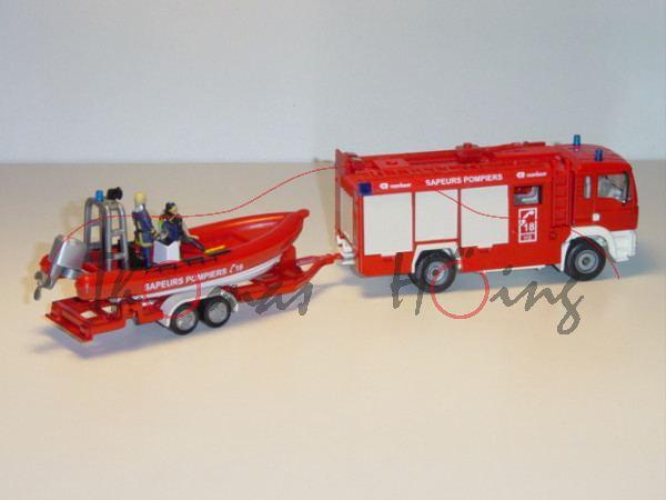 00100 Hilfeleistungslöschfahrzeug HLF MAN TGA 18.460 M Feuerwehr (Aufbau: Rosenbauer, ES Euro System