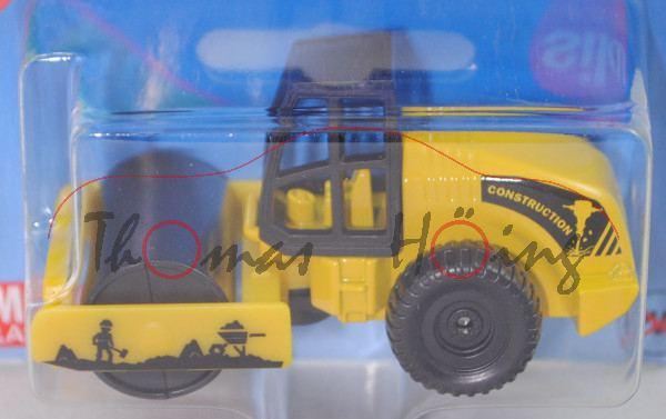 00000 HAMM 3625 HT Walzenzug mit Vibrationsglattbandage (Mod. 00-07) (Straßenwalze), gelb, P29e