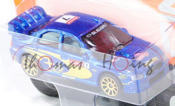 Subaru Impreza WRC (Nr. 275A), blaumetallic, SUBARU sti / WALES RALLY GB / 7 / SUBARU / WORLD RALLY