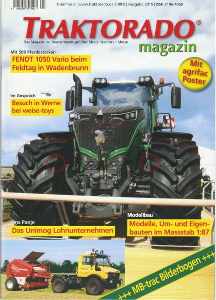 TRAKTORADO® Magazin, Nummer 6, Ausgabe 2015, Unimog und MB-trac Lohnunternehmen, Im Gespräch mit wei