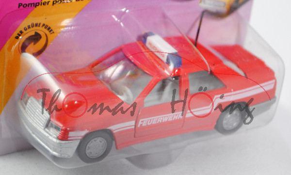 00000 Mercedes-Benz 300 E (Baureihe W 124, Modell 1985-1986) Feuerwehr-Einsatzleitung, verkehrsrot,
