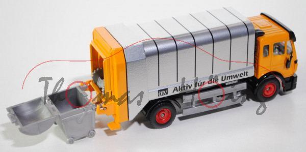 Mercedes SK facelift Müllwagen, melonengelb, ötv Aktiv für die Umwelt, L15