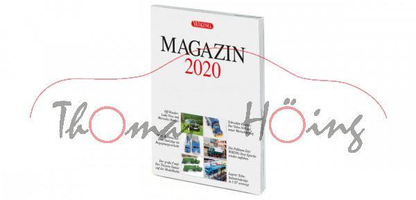 WIKING MAGAZIN 2020, Themen: Entstehung Lada Niva, Chronologie Volvo Hauber, DIN-A4, Wiking