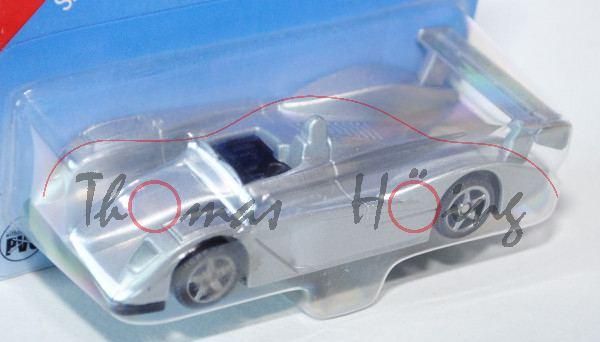 00000 SIKU Sport 1 / SIKU RACER (vgl. Audi R8 Le Mans Prototyp, Modell 2000-2005), silbergraumetalli