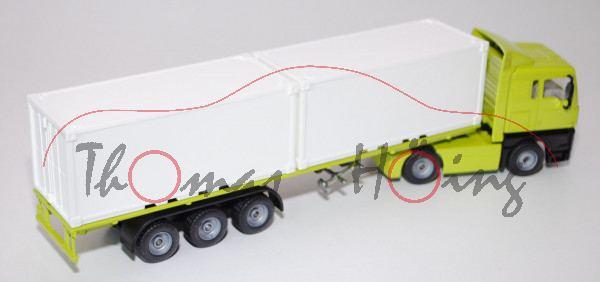 MAN TGA Container-LKW, leuchtgrün, o.K., L14n (Sondermodell Museum)
