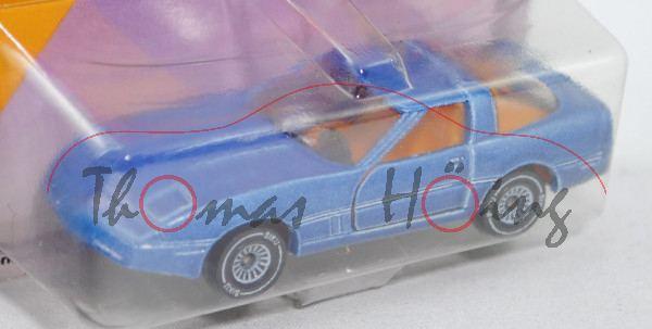 00001 Chevrolet Corvette 5.7 (Typ C4, Smal-Block-V8 Typ L83, Modell 1983-1984), blass-violettblaumet