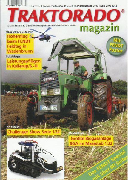 TRAKTORADO® Magazin, Nummer 4, Sonderausgabe 2013, FENDT Special über 60 Seiten, Bericht über 25 Jah