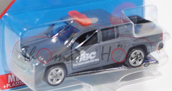 00401 SSC 2012 VW Amarok I Pick Up 2.0 TDI Doppelkabine (Typ 2H, Modell 10-16), basaltgrau, SSC 2012