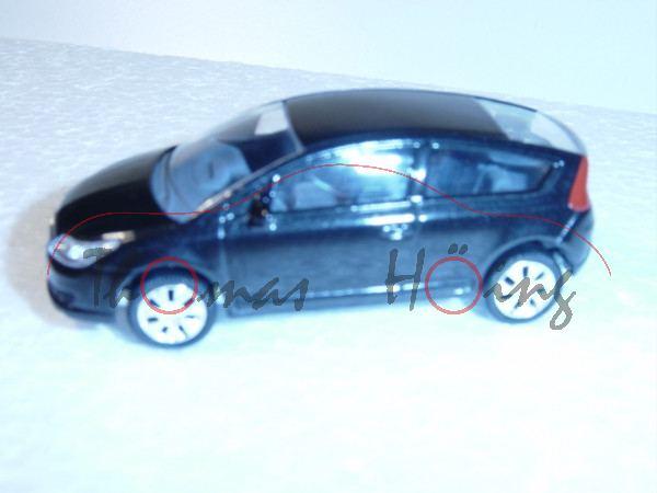 Citroen C4, 2-türig, schwarzmetallic, 1:50, Norev SHOWROOM, mb