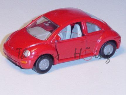 VW New Beetle 2.0 (Typ 9C), Modell 1998-2001, karminrot, ohne AHK