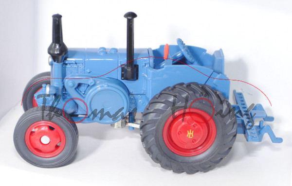 Lanz Ackerluft-Bulldog HR8 D9506 (Modell 1936-1955), blau, SIKU FARMER CLASSIC, 1:32, L17P