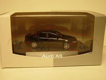 Audi A6, nachtblau, Mj 2004, Busch, 1:87, mb