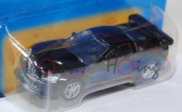 Chevrolet® Corvette® C6-R, schwarz, innen schwarz, Free Wheel, Unifortune RMZ City, 1:61 (3 inches S