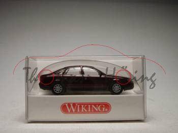 Audi A6, rotmetallic, Wiking, 1:87, mb