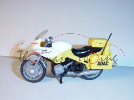 BMW R 1100 RS (Modell 1993-2001) ADAC-Pannenhilfe-Motorrad, zinkgelb, ADAC / Straßenwacht, Antenne l
