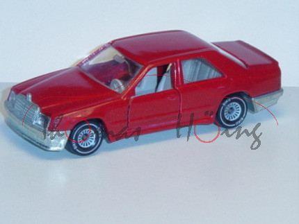 Mercedes 300 E (Baureihe W 124), Modell 1985-1986, iberischrot, IE grau, B4