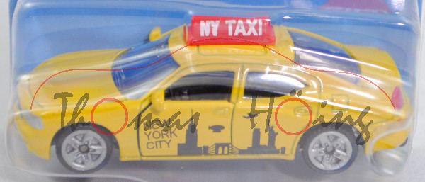 00002 Dodge Charger SXT 3.5L V6 (6. Gen., Mod. 05-10) US-Taxi, gelb, NEW/YORK/CITY und Skyline, P29e