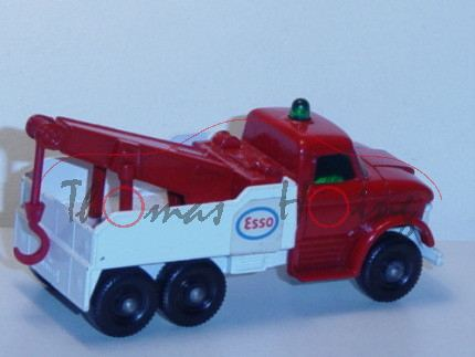 Ford Heavy Wreck Truck, feuerrot/weiß, ESSO, Matchbox Series