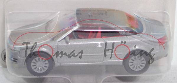 00402 Audi A4 Cabrio 3.2 FSI quattro mit Verdeck (B7, Typ 8H, Mod. 06-09), graumetallic, ohne Druck