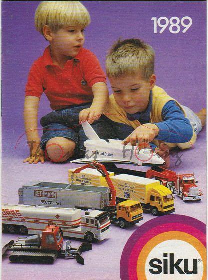 Verbraucherprospekt / Katalog 1989, 32 Seiten, 10,5 x 14,3 cm