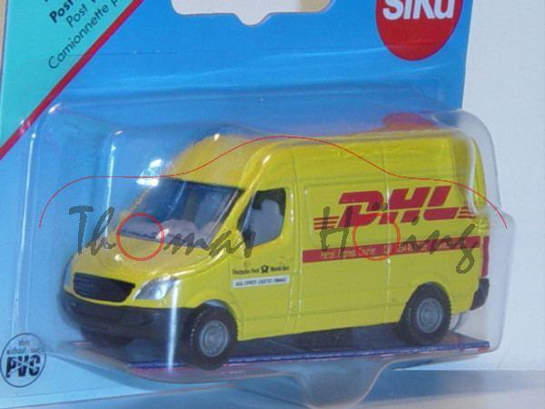 00002 Mercedes-Benz Sprinter II (NCV 3, W 906, Mod. 06-13) Kastenwagen Postwagen, gelb, DHL / Parcel