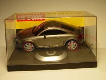 Audi TT Coupe, steingraumetallic, mit Fernsteuerung, cartronic, 1:24, mb