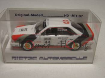 Audi V8 quattro DTM (Typ R6, Modell 1990-1992), reinweiß, DTM Saison 1990, Team SMS, Fahrer: Hans-Jo